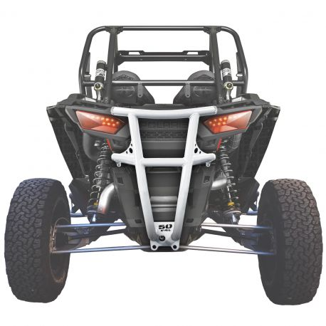Custom Tubular Rear Bumper for Polaris RZR XP1000 Available in Powdercoat Red, Black, Blue, Lime, Orange  and White
