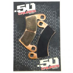 50 Caliber Racing Disc Brake Pads For Polaris RZR XP1000 XP900 XP Turbo with Lifetime Warranty