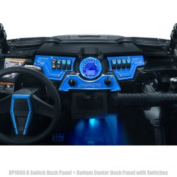 50 Caliber Racing CNC Billet Dash Panels with 8 Switch Locations