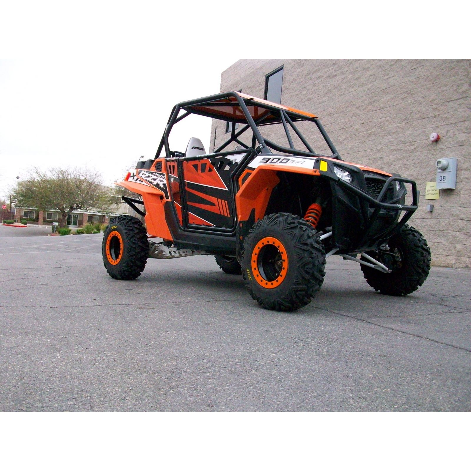 Polaris Rzr 570 800 Xp900 Roll Cage With Aluminum Roof