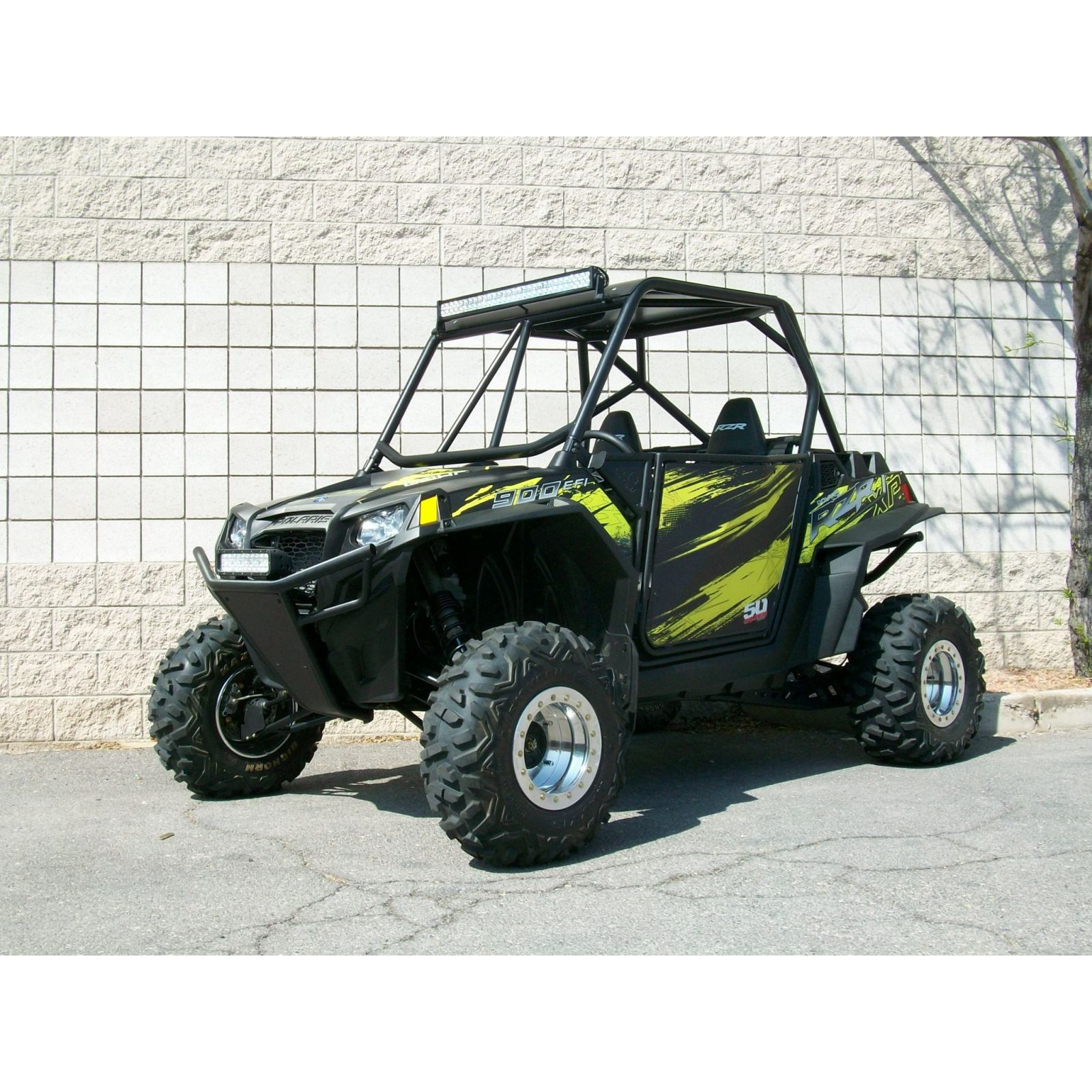 Polaris RZR 570, 800 XP900 Roll Cage With Aluminum Roof