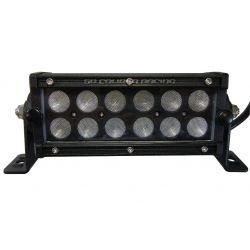 Elite Series 6.5 Inch Flood Beam 36 Watt LED Light Bar