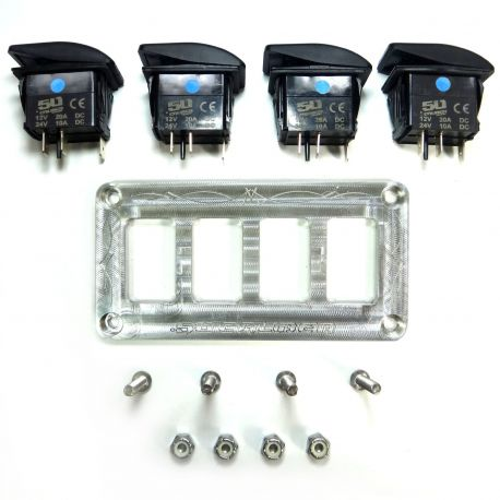 Universal Dash Panel With Switches