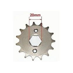 sprocket 420 15 tooth 20mm