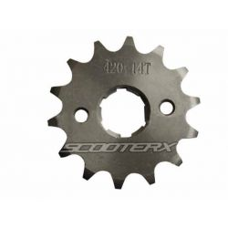 Sprocket 420 14 tooth 17mm