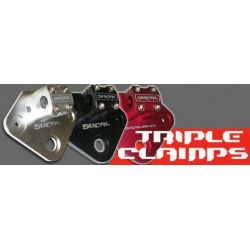 Triple clamps for your stock forks