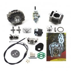 50 Caliber Racing 88cc Vintage Big Bore Kit with Race Head for Honda Z50, CT70, ATC70, SL70 & XL70 Pit Bikes 1968-1981
