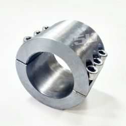 "Split Collar Tube Clamp for 1.5"" Round Tubing - for Fabricating Bolt-on Accessories"