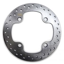 Upgrade Cross Drilled Front Disc Brake Rotor with Warranty for Polaris RZR XP900