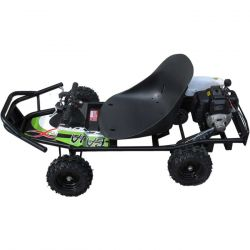 49cc ScooterX Baja Off Road Mini Go Kart Green Graphics