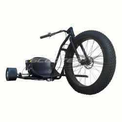 ScooterX Drifter 6.5hp Drift Trike Black