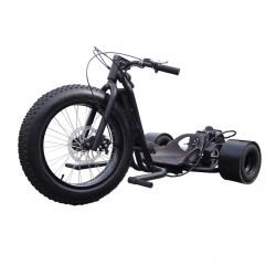 49cc Driftmaster Drift Trike - ScooterX - Murdered out Matte Black