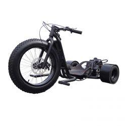 49cc Driftmaster Drift Trike - ScooterX - Murdered out Matte Black