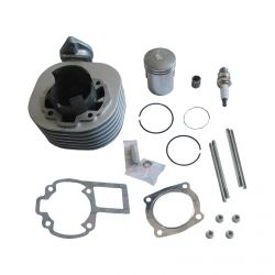 50 Caliber Racing Complete Top End Cylinder Kit for Suzuki LT80 & Kawasaki KFX80 ATVs