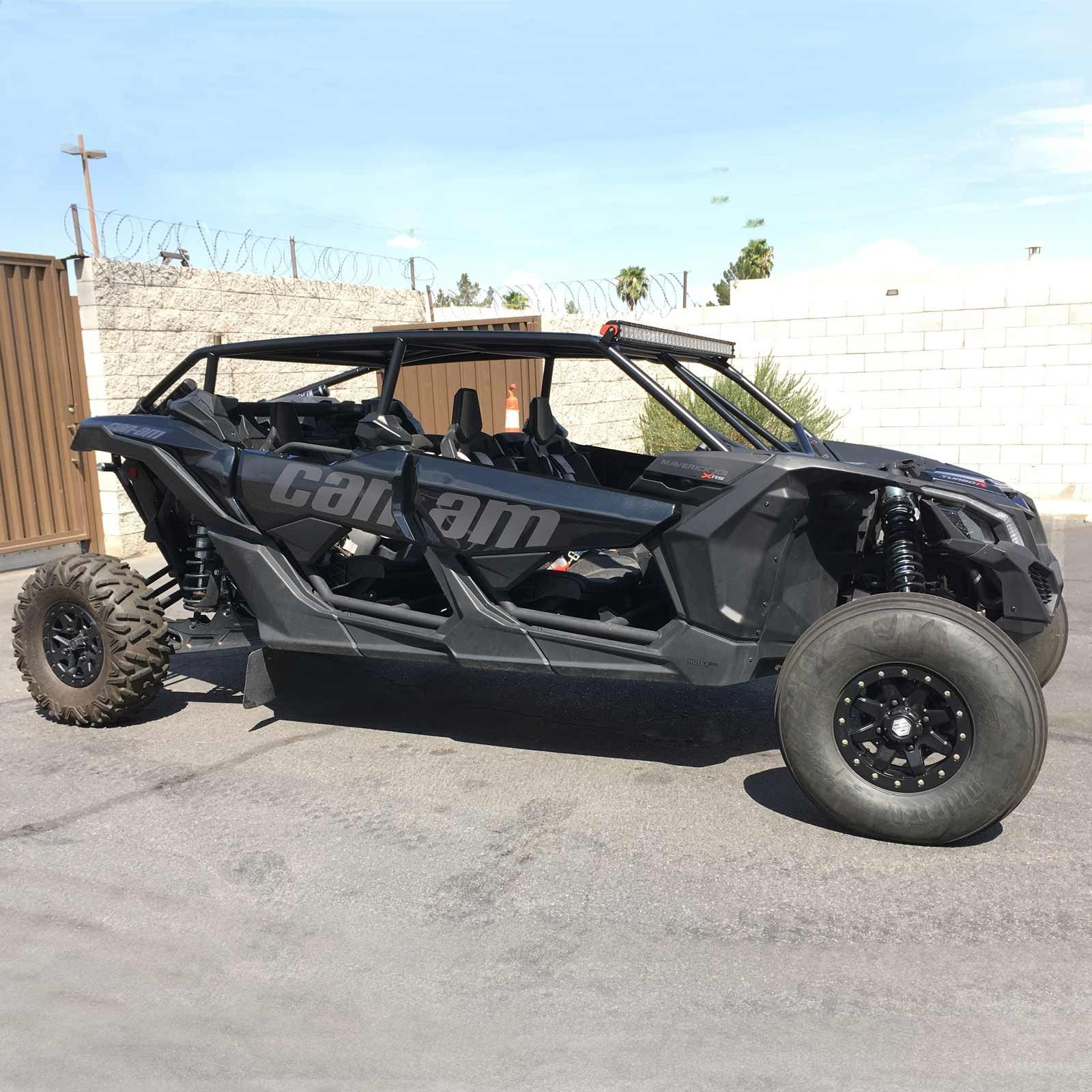 Custom Can Am X3 Max Pro Race Roll Cage 4 Seater Xrs Xds