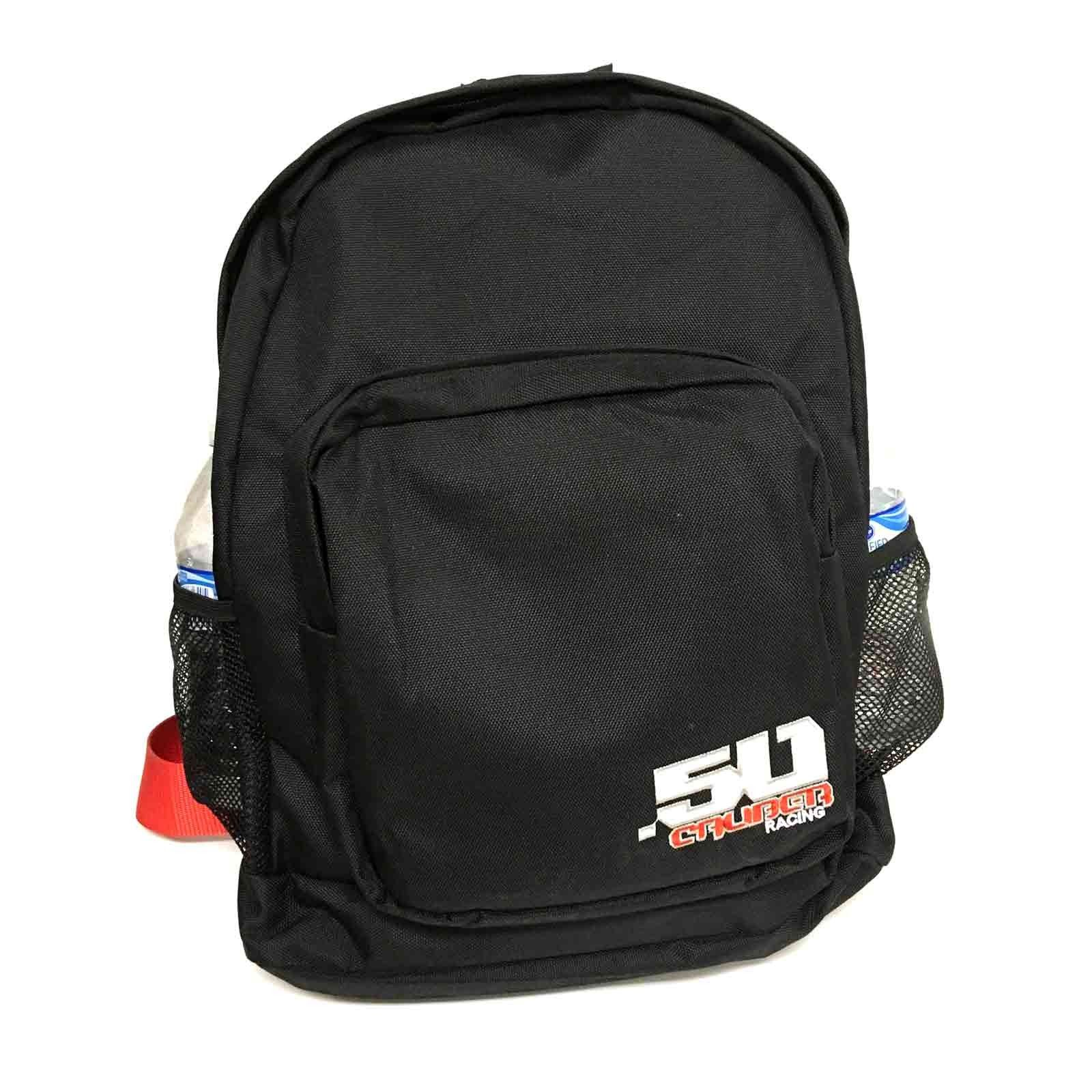50 Caliber Racing Logo Backpack with Padded 5 point