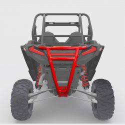 2019 XP1000 Pro Race Rear Bumper - Red Powdercoat Finish