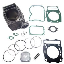 Complete Aftermarket Top end rebuild kit stock bore size for Polaris Sporstman 500 ATV with pin piston rings cylinder clips gask