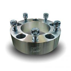 50 Caliber Racing - 5 x 5.5 Inch (5 x 139.7 metric) Billet Aluminum Wheel Spacer