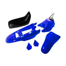 50 Caliber Racing Replacement Plastic, Tank and Seat Kit for Yamaha PW50 Pit Bikes