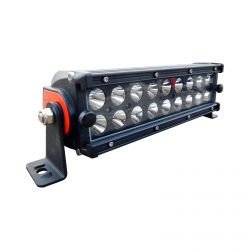 50 Caliber Racing Elite Series 9.5 Inch Spot Beam 54 Watt LED Light Bar