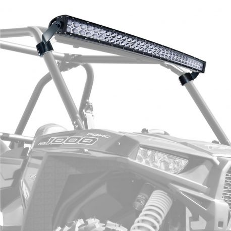 "40"" Curved Light Bar Mounting Brackets - Fit Pro Armor Roll Cage Equipped RZR XP1000 and S 900"