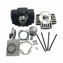 50 Caliber Racing 60cc Big Bore Top End Kit with Head Included for Yamaha PW50 & QT50 Pit Bikes