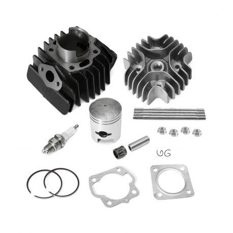 50 Caliber Racing Complete Top End Cylinder Rebuild Kit for Suzuki LT50 Quadsport ATVs