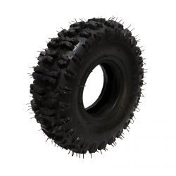 "Super Knobby Scooter Tire Size 300x4 - 10"" Tall fits 4"" Rim"