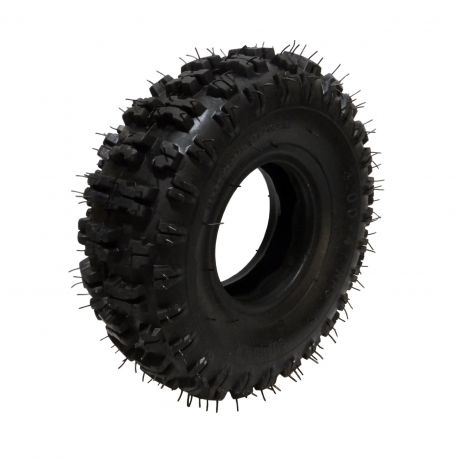 """Super Knobby Scooter Tire Size 300x4 - 10"""" Tall fits 4"""" Rim"""
