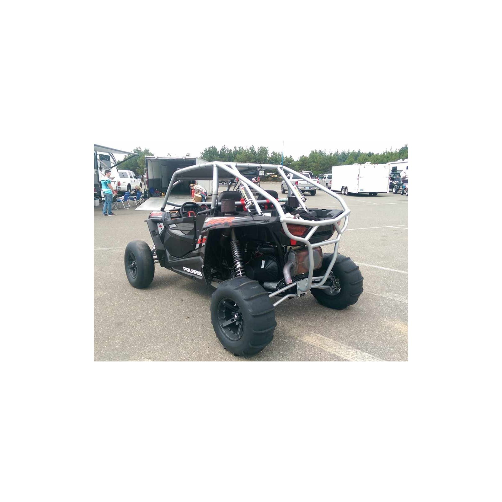 Polaris Rzr Xp1000 Turbo Roll Cage W Radius Bends