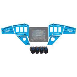 Custom 6 piece CNC Billet Aluminum Dash panel - Polaris Interactive Digital Display (GPS) equipped RZR XP 1000, S 900, 900 Trail
