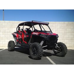 50 Caliber Rock n' Roll Cage - DOM Tubing with Aluminum Roof for 4 Seat Polaris RZR 4 XP1000