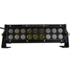 """50 Caliber Racing Elite Series LED Light Bar - 9.5"""" Dual Row Spot/Flood Combo Beam"""