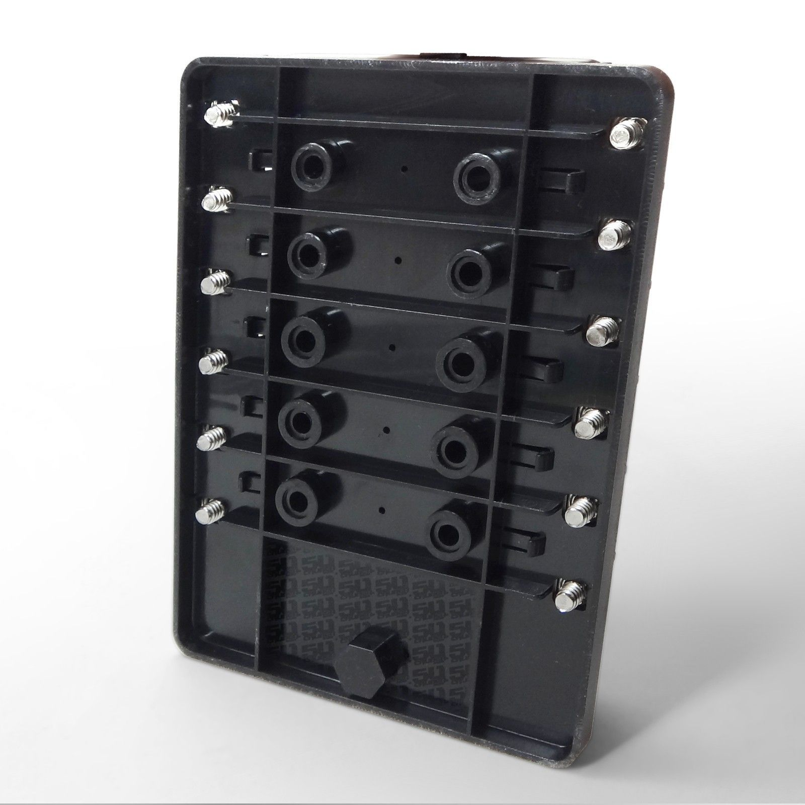 universal 12 way covered 12v circuit blade fuse box led Male Pin Terminal Connector