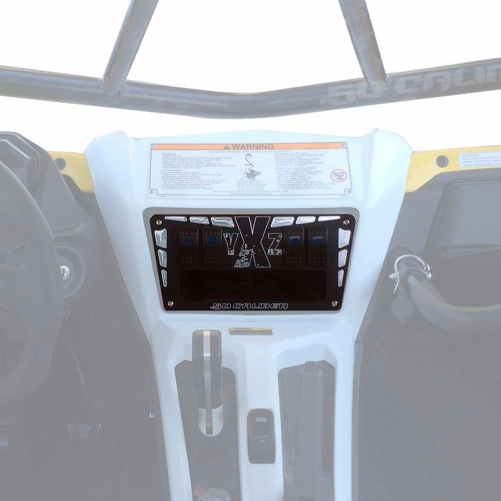 Outdoor Sports Yamaha YXZ 1000R black billet dash panel UTV