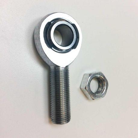 """5/8"""" Thread x 5/8"""" Bore Chromoly Heim Joint Rod End"""