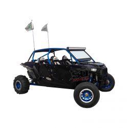 Custom Hand Built DOM tubing Pro Race Cage Fits Polaris RZR 4 XP1000 4 seat models 2014-2018 Including XP Turbo