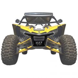 50 Caliber Racing Custom .095 Wall Tubular Rear Bumper for Yamaha YXZ1000R