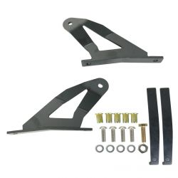 """50"""" Curved Light Bar Mounting Brackets for 04-14 Nissan Titan"""