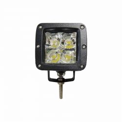 50 Caliber Racing 2 inch LED pod light with spot beam