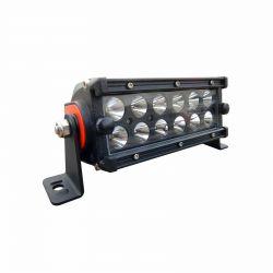 50 Caliber Racing 6.5 Inch Spot Beam 36 Watt LED Light Bar