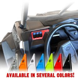 50 Caliber Racing Left Dash Panel with 3 Additional Switch Locations