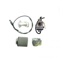 High Performance 20mm Carburetor and Intake Kit for Honda Pit Bikes with 88cc Big Bore Engines