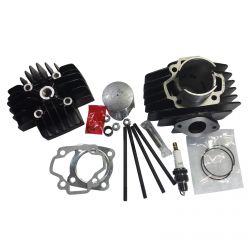 50 Caliber Racing Stock Bore, Stock Compression Top End Rebuild Kit for Yamaha Pee Wee 50 PW50 Pit Bikes