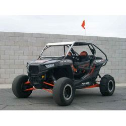 Custom Made to Order Radius Roll Cage with Aluminum Roof for 2 Seat Polaris RZR XP1000