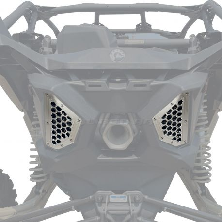 Rear Billet Grille Bezels CAN AM X3 - Raw (no finish)